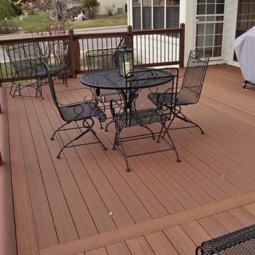Evergrain Decking, lower Peregrine